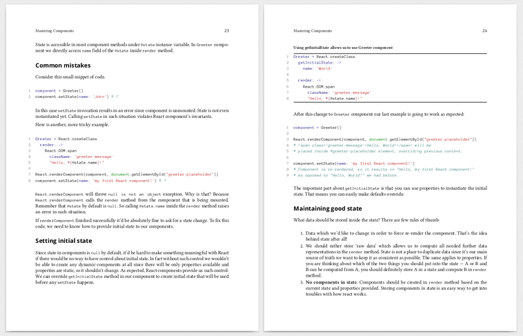 Rails meets React js → Ebook + Git Repo Access | Arkency Blog